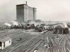 Michigan Central Railroad Depot sometime around 1940.