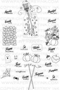 Friendship Jar Fall Fillers Stamp Set Papertreyink stamps $24.00