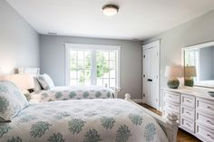 Edgartown Home Rental - SULLS   Martha's Vineyard Vacation Rentals. 2nd level guest bedroom with shared bath.