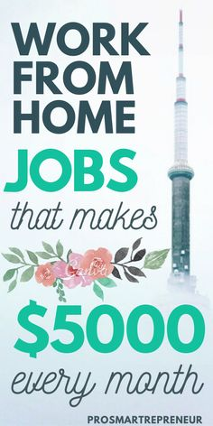 You don't have to have a job just to make full-time income. These work from home jobs are high paying and in demand. Plus, you don't need experience to qualify for these jobs. Start making full time income by working from home with one of these jobs. Work From Home Careers, Work From Home Companies, Legitimate Work From Home, Home Work, Online Jobs From Home, Earn Money From Home, Earn Money Online, Way To Make Money, Money Fast