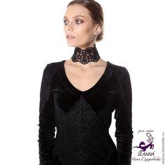 Купить Ожерелье безразмерное - ожерелье красивое купить, купить ожерелье, колье, ожерелье, черное ожерелье