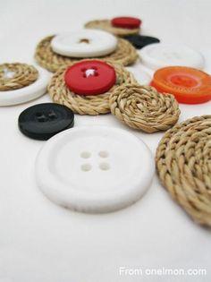 DIY Crafts : DIY Button decoration ideas