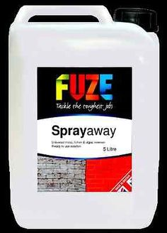 Fuze Sprayaway Moss, Algae & Lichen Remover, Universal Product For Treating All Manner Of Garden Pestsl.