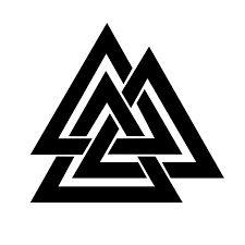 Resultado de imagen para valknut  runes