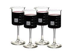 Laboratory Beaker Wine Glass