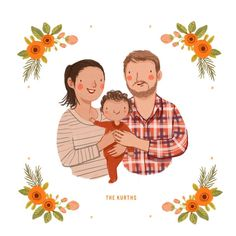 Custom Family Portra