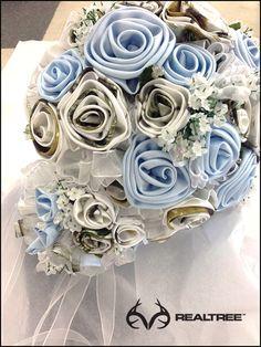Realtree Snow Camo Wedding Banquet   #Realtreecamo