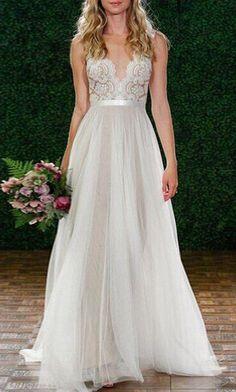 Sleeveless Backless Lace Dress ==