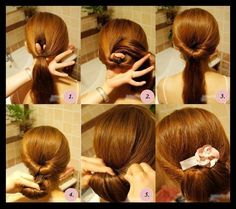 Simple Hair Tricks for fancy occasions
