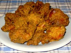KFC Original Recipe Chicken Livers (Copycat) K F C Original Recipe Chicken Livers from : My copycat recipe for KFC's bygone Original Recipe Chicken Livers. This recipe requires cup K F C Original Recipe 11 Secret Herbs and Spices. Chicken Liver Recipes, Recipe Chicken, Deep Fried Chicken Livers Recipe, Kos, Kfc Original Recipe, Chicken Gizzards, Liver And Onions, Breaded Chicken, Tasty