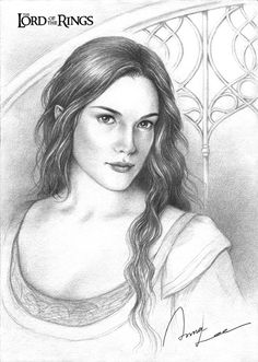 Arwen (via Arwen by ~ilxwing on deviantART)