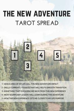 new adventure tarot spread #learningtarotcards #tarotcardstips
