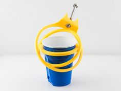 For the dining hall! Crutch Cup and Can Holder by walter. For your crutches!