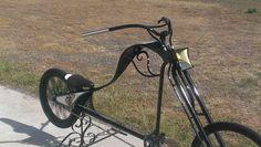 Handcrafted push bike