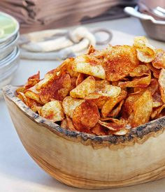 Barbecue Potato Chips Recipe