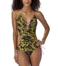 Camouflage Monokini Swimsuit
