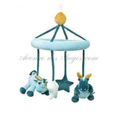 #Mobile #Victor et Lucien de #Noukies: un jouet de lit musical qui apaise les petits.. http://www.avenuedesanges.com/fr/noukies-victor-et-lucien/2626-mobile-musical-5413042383614.html