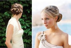 {Wedding Trends} : Braided Hairstyles | bellethemagazine.com