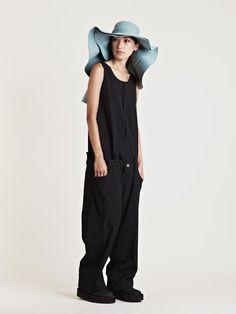 Yohji Yamamoto Attach Jumpsuit and Attach Pants