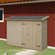 Sådan finder du det optimale haveskur til din have Garage Workshop, Bauhaus, Home Improvement, Garage Doors, Shed, Outdoor Structures, Exterior, Ebay, Simple
