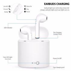 Sans fil Écouteurs I7S-TWS MINI Bluetooth V4.2 Stéréo Écouteurs Doubles  Jumeaux Écouteurs 1cf16cd2653dd