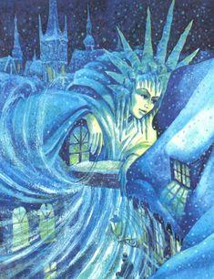 Сказочные Иллюстрации: Леонид Золотарев - Снежная королева*-snow queen