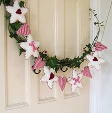 felt christmas garland - Felt Christmas Garland