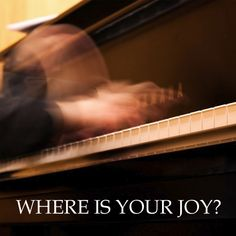Where is your joy? Great design from @KellySauer and @thehighcalling