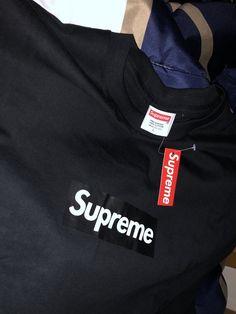 Supreme 17FW Gray Box Logo hoodie Size X-Large