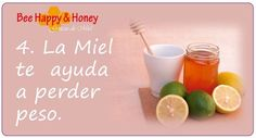 4. La Miel te ayuda a perder peso.  Beber agua caliente con limón y miel en ayunas, a primera hora de la mañana, es el componente principal de cualquier programa de desintoxicación que ofrezco a mis clientes. Hacer esto sobre una base diaria es una de las mejores maneras de limpiar el hígado, eliminar toxinas y limpiar la grasa del cuerpo. https://www.facebook.com/photo.php?fbid=10151698365681281=a.10151694599896281.1073741854.145797141280=3