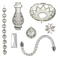 Check out our selection of chandelier parts and get a great new look in  seconds. We have beautiful crystals