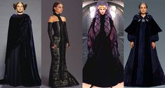 Padmé Amidala's wardrobe from Star Wars: The Prequel Trilogy (Episode I: The Phantom Menace / Episode II: Attack of the Clones / Episode III: Revenge of the Sith)