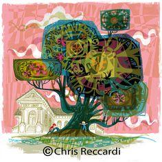 """Magic Tree"" at Tender Greens Westwood"