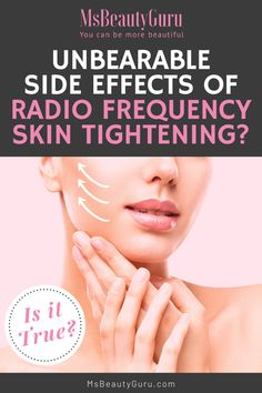 There are many who expressed concern about side effects after Radio Frequency Skin Tightening. Are these true and what exactly is RF Skin Tightening process that captured the imagination of so many women. Let us clear the air for you here. #msbeautyguru #beauty #skintightening