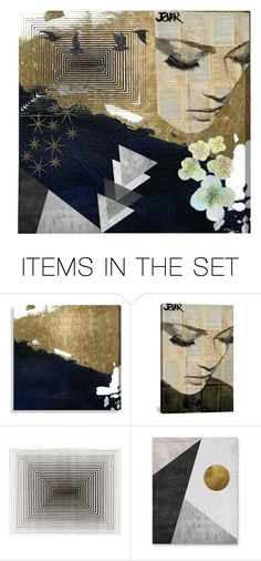 """""""Les Memoirs"""" by joonijewelry ❤ liked on Polyvore featuring art, gold, Collage and artexpression"""
