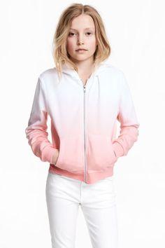 Chaqueta con capucha - Blanco/Rosa - NIÑOS | H&M ES 1