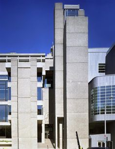 One of the earliest known examples of Brutalist architecture in America is Paul Rudolph's Yale Art and Architecture Building in New Haven, Connecticut