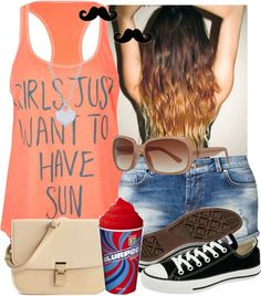 """""""Have Fun"""" by memelovely ❤ liked on Polyvore"""