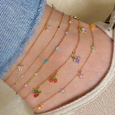 Ankle Jewelry, Ear Jewelry, Cute Jewelry, Crystal Jewelry, Jewelery, Jewelry Accessories, Jewelry Design, Simple Jewelry, Silver Jewelry