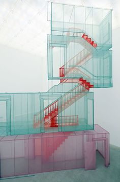 Do Ho Suh, Perfect Home | http://www.yellowtrace.com.au/2013/10/30/do-ho-suh-polyester-sculptures/