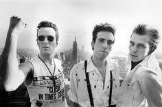 The Clash, NYC, 1981, by Bob Gruen.