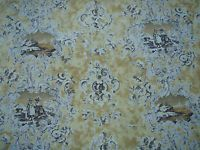 "WATTS OF WESTMINSTER CURTAIN/UPHOLSTERY FABRIC DESIGN ""D'Urberville"" 6.5 METRES"