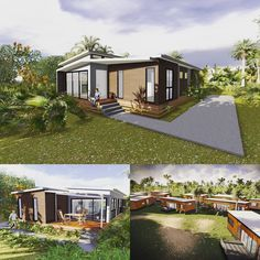 We designed a series of #modular #houses for @hutchies1912 and @qldhealth for transportation to Thursday Island. Our designs provide a comfortable living environment and #home because they takes advantage of #natural #ventilation to reduce humidity. #HAproject #heisearchitecture #interiordesign #concept