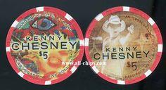 $5 Hard Rock Las Vegas Kenny Chesney The Big Revival Tour 2015