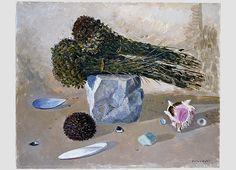 Giovanni Colacicchi Paintings | Giovanni Colacicchi 1900 - 1992 - due mazzette di origano