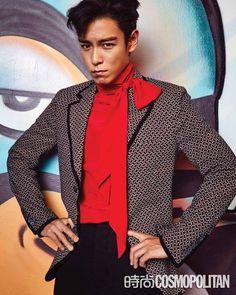 'Cosmopolitan' Releases More Shots of Big Bang's T.O.P | Koogle TV