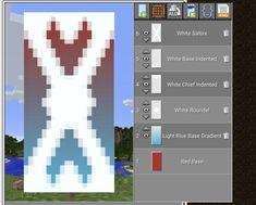 Minecraft Crafting Recipes, Minecraft House Tutorials, Minecraft Plans, Minecraft House Designs, Minecraft Tutorial, Minecraft Blueprints, Minecraft Crafts, Minecraft Stuff, Minecraft Banner Patterns