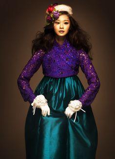 modern vintage hanbok