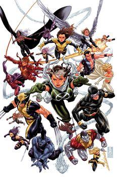 Mark Brooks | X-Men: Legacy #275 cover | #xmen #marvelcomics #comics