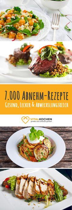 Über 7.000 abwechslungsreiche Abnehm-Rezepte warten auf Dich: Von Low-Carb Rezepten bis Abendessen Rezepte über vegetarische und vegane Rezepte. Alles was das gesunde Abnehm-Herz begehrt!
